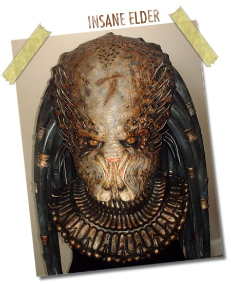 Mel 'Thebiggunns' is Back with the Ultimate Elder Predator Mask!