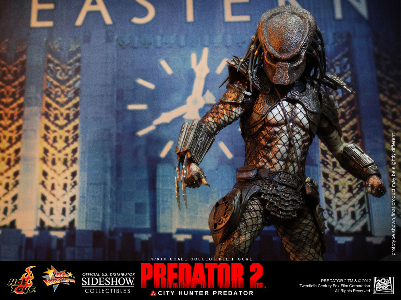 Predator Stuff Gallery Hot Toys City Hunter Predator
