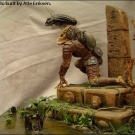 Beautiful Diorama made from the Billiken AvP Kit - Pic 1