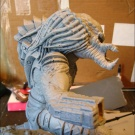 Qenex starts to repair the statue - Primed and ready to go - Pic 1
