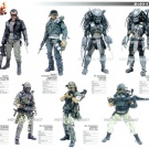 Hot Toys 1/6 Scale AvP Celtic Predator - Flyer
