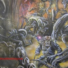 AvP Style Computer Case made by www.customairbrushing.com - Pic 2