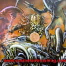 AvP Style Computer Case made by www.customairbrushing.com - Pic 7