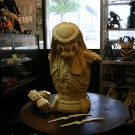 Narin 1/2 Scale AvP Celtic Bust - Raw Cast - Pic 2