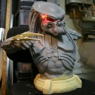 1:2 ModModel AvP Celtic Bust - Built and Painted by Wataru at Monsterz.net - WiP 1