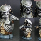 Sample image of the 1:2 Scale Celtic Predator Bust by ModModel