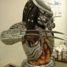 1:2 Scale Celtic Predator Bust by ModModel - Built and painted by Joe Evans - Pic 2