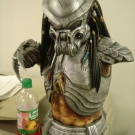 1:2 Scale Celtic Predator Bust by ModModel - Built and painted by Joe Evans - Pic 5