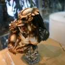 Narin\'s Beast Predator Bust built and painted by Wataru and Monsterz.net - Pic 4