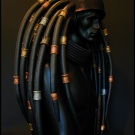 The wearable AvP long style dreads designed by KingJamie - Pic 1