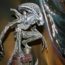 Alien Warrior Maquette pics courtesy of THX-182 from www.sideshowcollectors.com