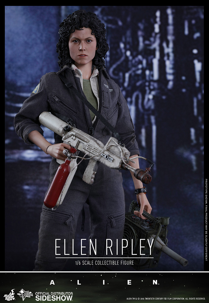 Ellen Ripley Hot Toys alieni 1986 MOVIE Mini figura con Newt